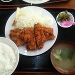 ニコニコ亭 - ソースカツ定食\670