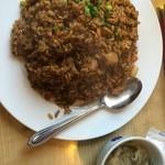 福来飯店 - 黒炒飯
