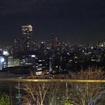 ベルジアン ブラッスリーコート ブルージュ - 窓際から見る夜景