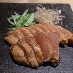 okatotoki - 明太子の炙り