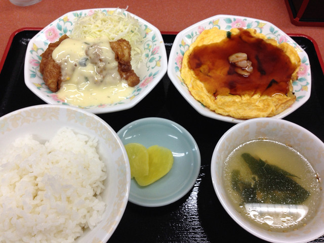 激安の中華料理