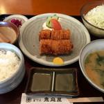 恵庭屋 - ヒレとんかつ定食