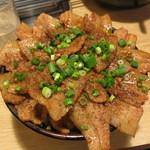 串揚げ じゅらく - ・「メガしびれ豚丼(\880)」