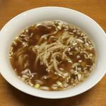 松屋製麺所 - 醤油スープの素ラーメン