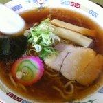 やよい食堂 - 醤油ラーメン500円