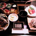 うなぎ 蓮花 - 夏の昼御膳1500円