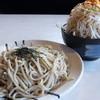 北青山 - 料理写真:どてちんつけ麺大盛+野菜増し