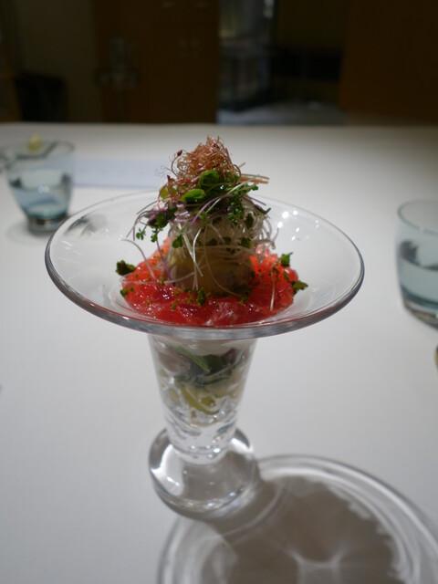 エール - 野菜のパフェ