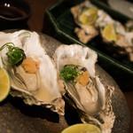 龢 - 蒸し牡蠣