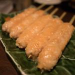 龢 - 鶏つくね柚子味噌焼き