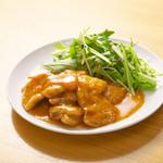 中国菜品 空心房 Produced by えびえびそば -