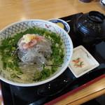 和食処 するが蕎 - 生しらすぶっかけ丼