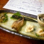 Tsumura - 珍味盛り合わせ