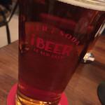 47014183 - フタコエールUSパイント(470ml)                       奥深くビールの味がしっかりして美味しかった