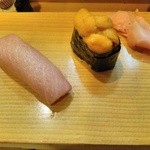小田寿司 - とろ、うに