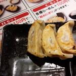むつみ屋 - セット餃子