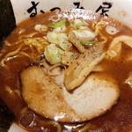 むつみ屋 - 赤味噌らーめん830円