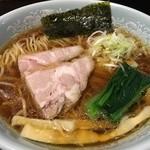 酒麺房 さの屋 - 鶏がら中華そば(醤油、700円税込)