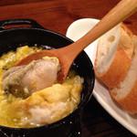 魚寿司 - 牡蠣のアヒージョ
