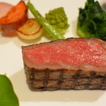フレンチレストラン セラン - 特選仙台牛ロース肉2