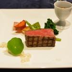 フレンチレストラン セラン - 特選仙台牛ロース肉1
