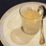 フレンチレストラン セラン - 林檎のグラニテ