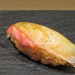 鮨 なかや - 淡路産真鯛