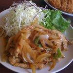 4702045 - 生姜焼き定食