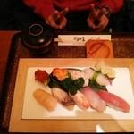 喜久寿司 - 通常メニューより。特選。