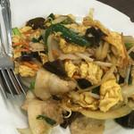 本格中華 龍源餃子 - キクラゲと卵の炒め物