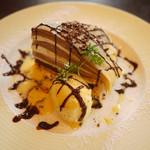 シャンデレール - 料理写真:チョコタルト