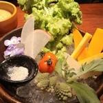 47024759 - 有機野菜のバーニャカウダー