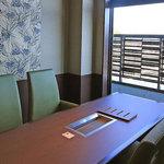 ステーキシャロン - くわ焼コーナー(個室)
