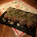 蛸にし家 - たこ焼き ソースマヨ 8個 400円