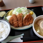 函館とんき - Cセット 塩ラーメン