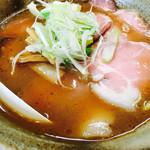 らーめん らいふ - 肉らーめん(豚骨醤油)1000円