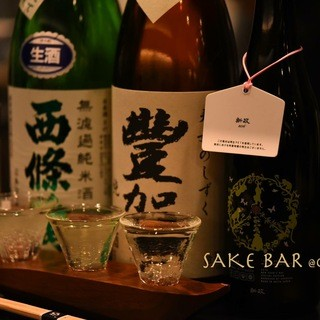 日本酒と出会い、人と出会う。大井町から徒歩2分の日本酒バー