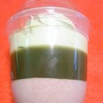 アウトレットスイーツ ロピア - 小豆ムース・抹茶ゼリー・ホイップクリーム・抹茶クリーム・粒餡・白玉