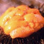 中野ウロコ本店 - うに殻焼き830円