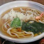 竹馬 - 料理写真:えび天ぷらうどん