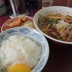 石川 - 料理写真:中華そばの定食