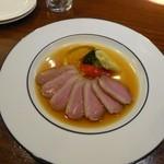 SAKEYA ジュイクク - 鴨のロースト オランジェのソース