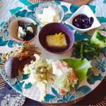 うつわカフェロータス - 料理写真:前菜