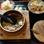 レストラン パリアッチみき - 釜飯
