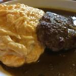 レストラン パリアッチみき - オムハンバーグカレー