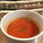 カフェ ミナミッソ - 有機トマトスープ
