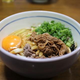 ちとせ - 料理写真:月見肉伊勢うどん☆