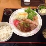 つかさ - 生姜焼き定食