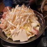 本格炭火焼鳥 てっぴ(鉄火) - もつ鍋