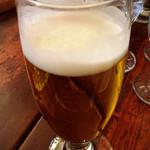 つばめグリル - ランチビール400円